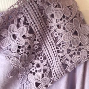 Talbots Lilac Sweater NWOT 2x